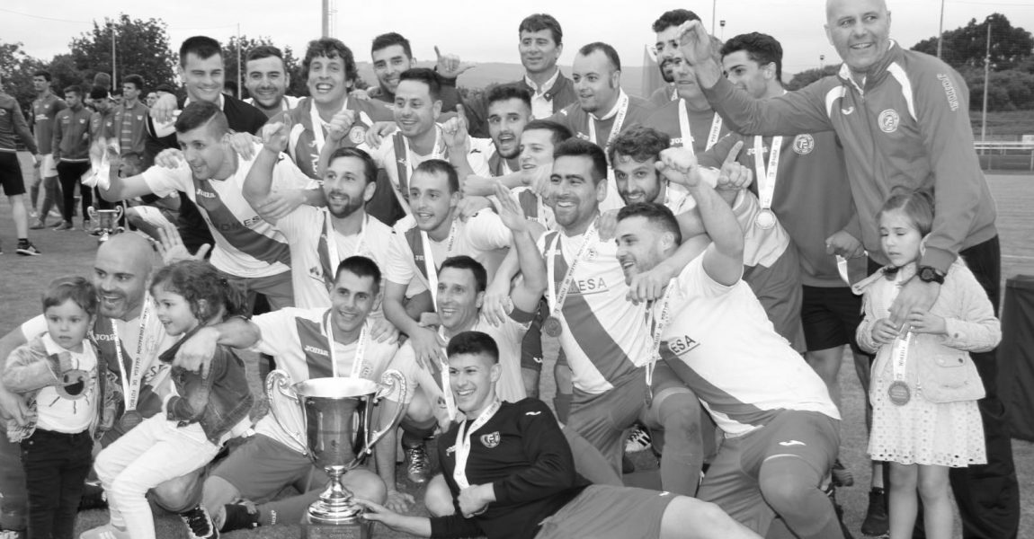 AD Miño campeones de Copa Ferrol 2018